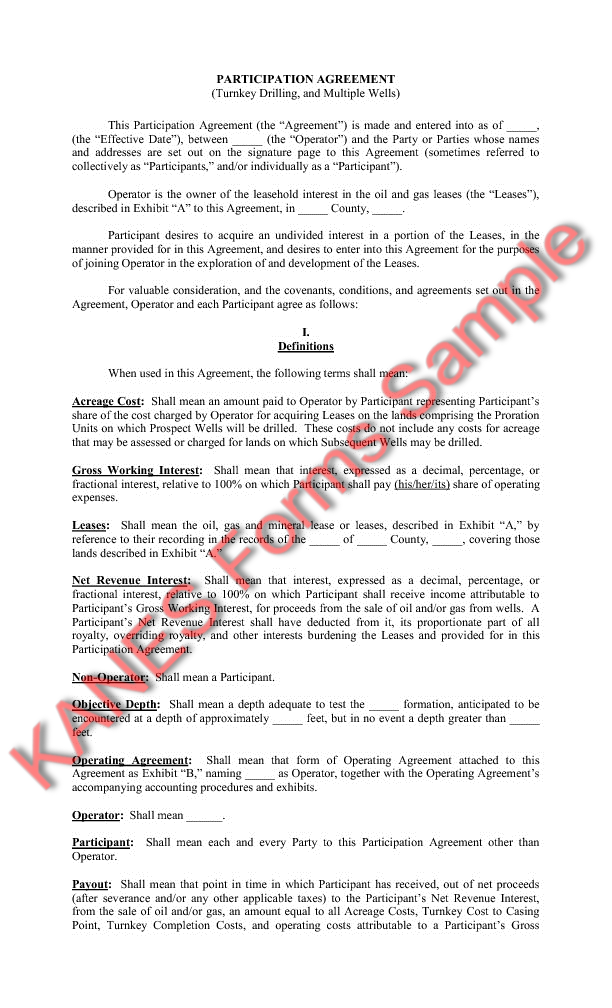 Tri party agreement draft gallery agreement letter format for Turnkey contract template