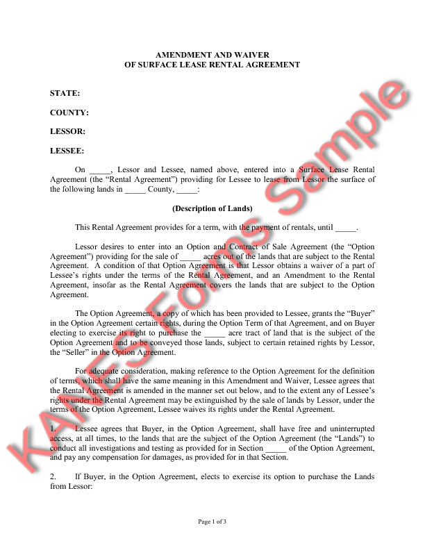 Lease Assignment Form  Free Assignment of Lease US
