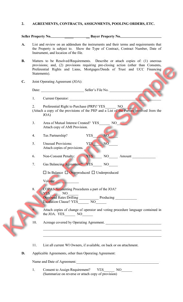 Due Diligence Sample Forms and Master Index – Due Diligence Checklist Template